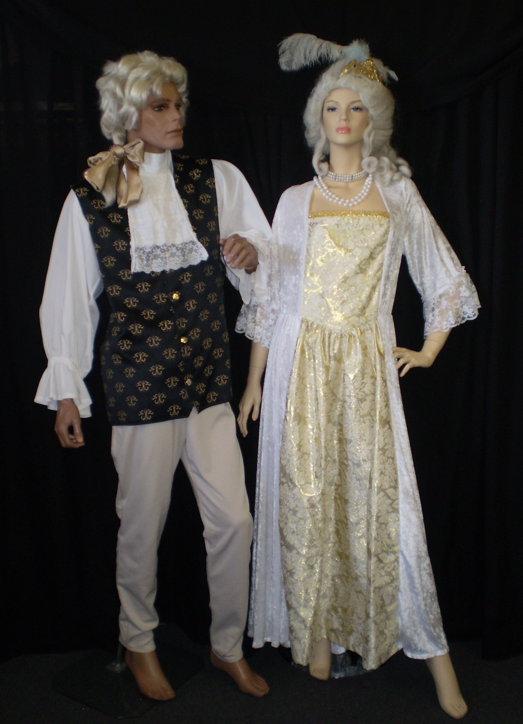 Baroque Costumes Historical Fancy Dress 1600 S 1700 S