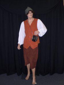 Men's Medieval peasant costume
