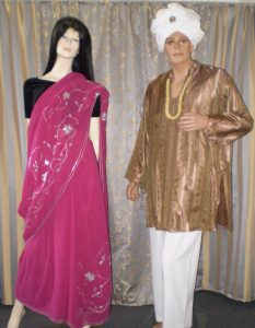 Bollywood couple costumes