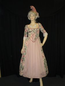 Ladies Baroque costumes