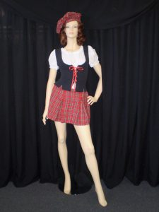 Female Scottish costume