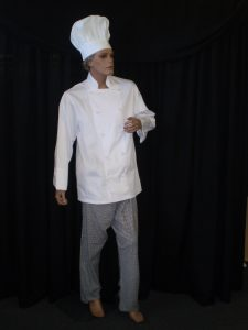 Chef uniform or costume to hire