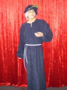 Medieval Scholar or Nobleman costume