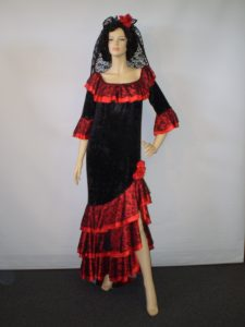 Long Spanish Dress