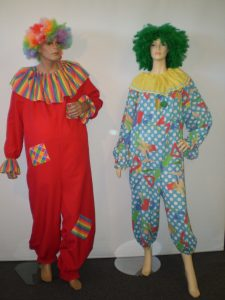 Circus clown dress up costumes
