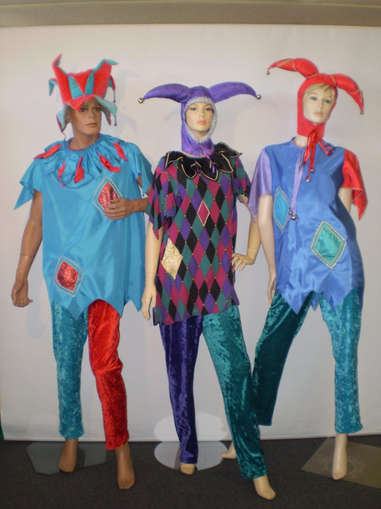 Court Jester costumes