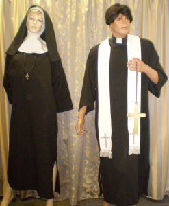 Priest and Nun - Religious costumes