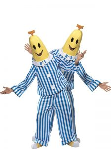 Bananas in Pyjamas. Costumes for couples. Costumes starting with B.