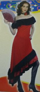 Flamenco dancer costume to buy