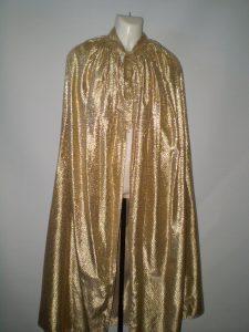 Gold cape
