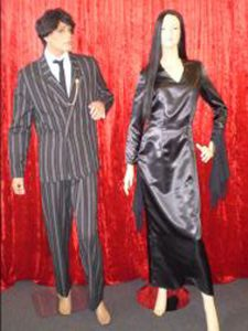Morticia and Gomez costumes