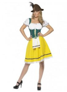 Female Oktoberfest costume to buy
