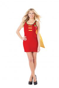 Female Robin superhero costume