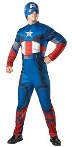 Captain America super hero costume to buy