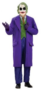 Joker costume from Batman, Purple suit style