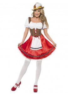 Sexy Bavarian wench costume
