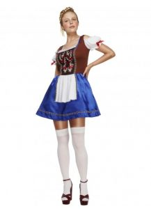Sexy German dirndl costume