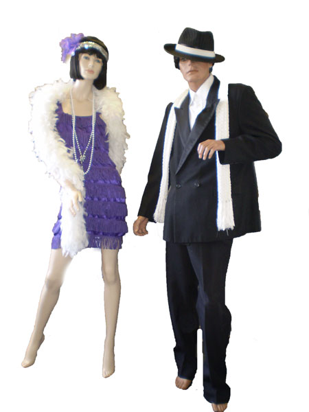 Mens And Womens 1920 S Costumes Gangster Amp Gatsby Fashion