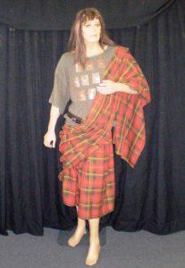Braveheart movie character costume