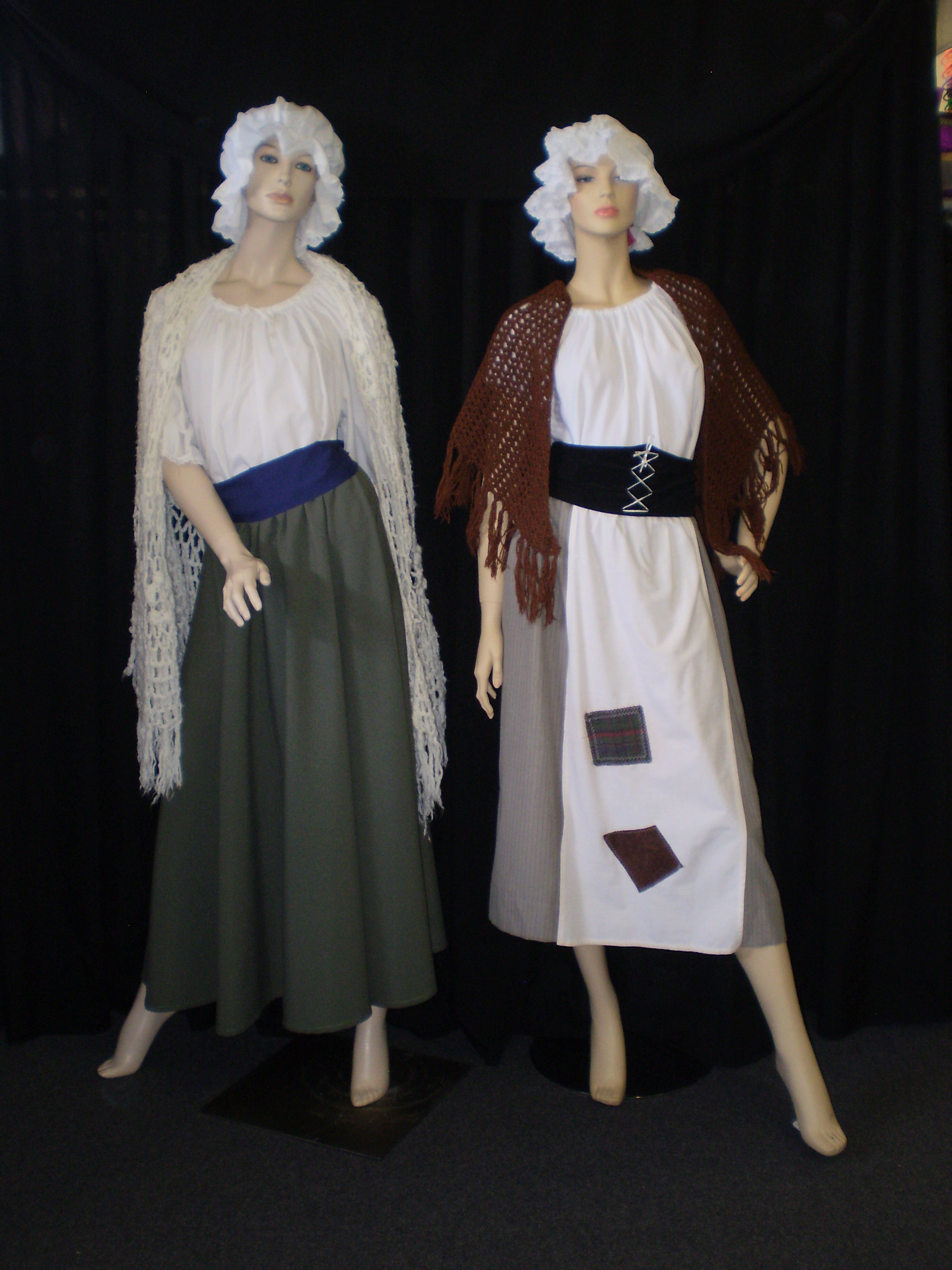 Colonial Costumes Convicts Regency Late 1700 S Early 1800 S