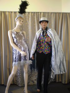 Magician and his assistant carnival costumes