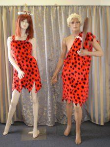 bam Bam and Pebbles Flinstones costumes