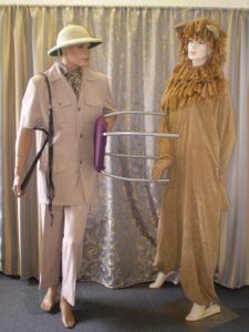 Circus Lion Tamer and Lion costumes