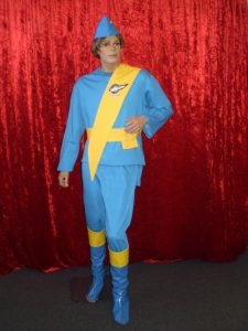 Thunderbirds International Rescue costume