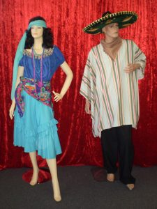 Mexican Couple costumes