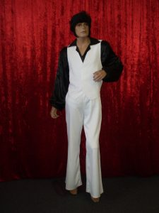 John Travolta 1970's Movie costume Saturday Night Fever
