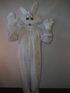 White fur Bunny Rabbit or Easter Bunny costume