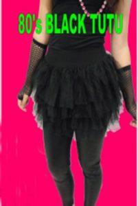 black tutu 1980's