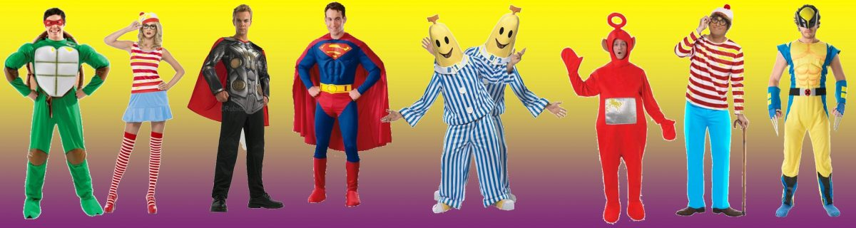 Cartoon costume ideas