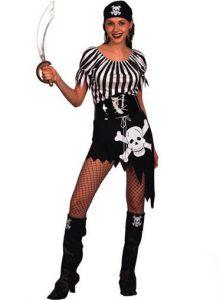 Pirate lady short