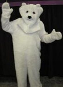 White Polar or Bundy bear costume