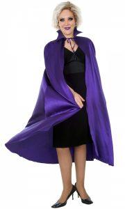Purple satin cape to buy
