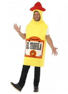Tequila bottle costume