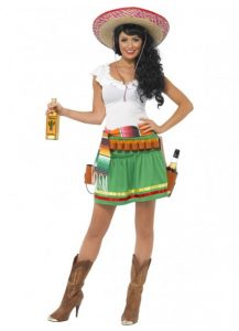Tequila shooter girl sexy Mexican costume