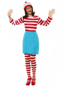 Wenda form Wheres Wally-One of our Book Week costume ideas