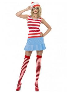 Where's Wenda short style with striped socks