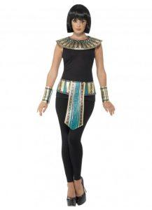 Egyptian collar, belt & cuffs
