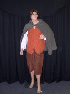 Frodo Lord of the Rings movie costume