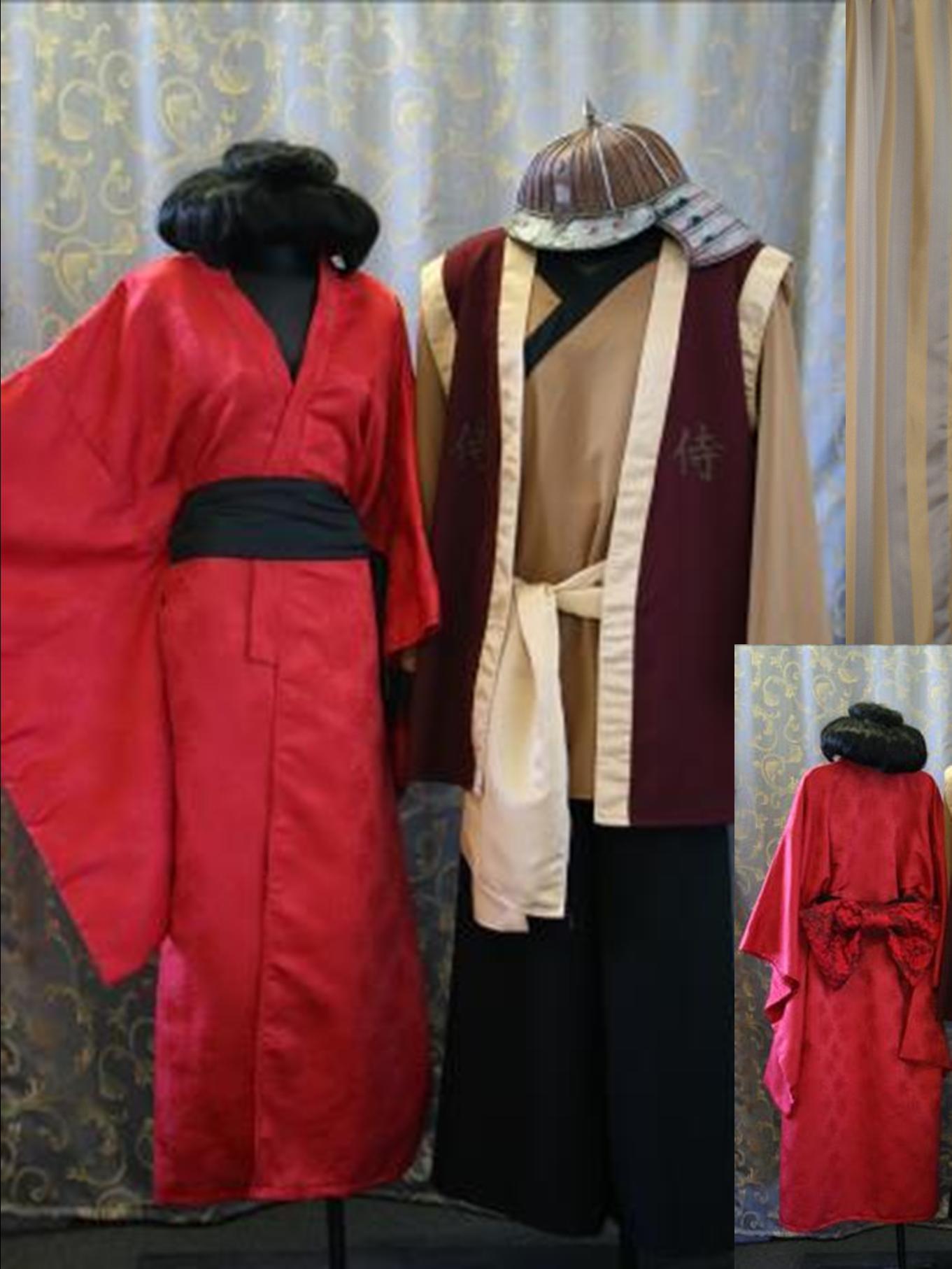 Geisha Kimono u0026 Samurai Warrior costume & Costumes Starting with G G Theme Alphabet Dress Up Party