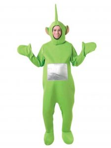 Green fancy dress ideas Dispy costume from Teletubbies