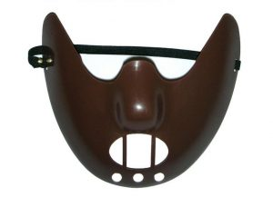 Hannibal Lecter mask 80's movie character