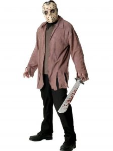 Jason shirt & mask, Halloween costumes starting with J