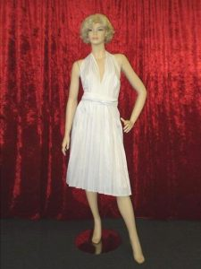 Marilyn Munroe costume hire