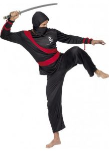 Adults Ninja costume to buy. Sydney shop.