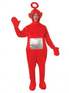 Costumes starting with t or p Po from Teletubbies