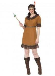 Women's Indian Squaw costume to buy